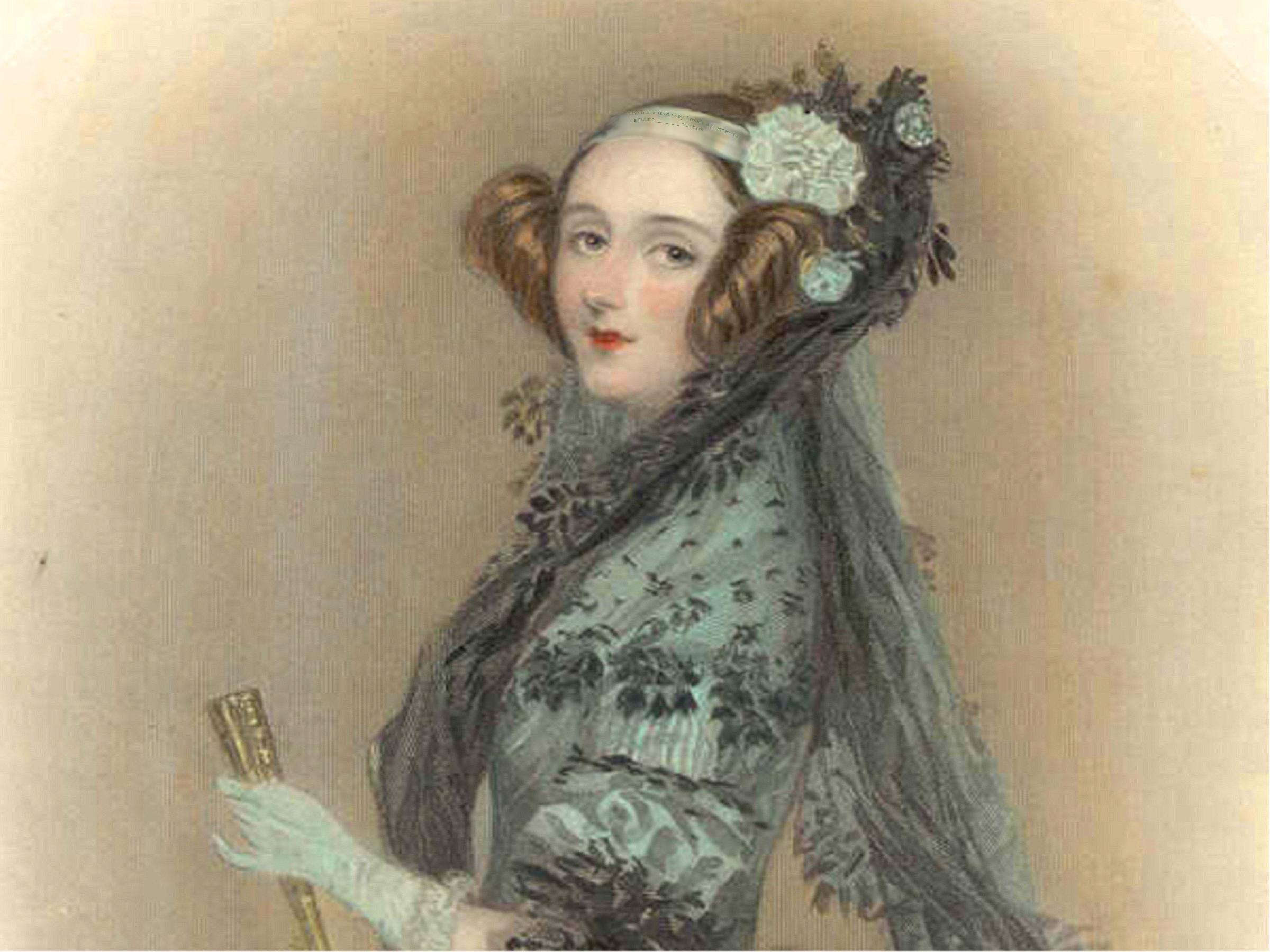 Ada Lovelace, reconnaissance guru